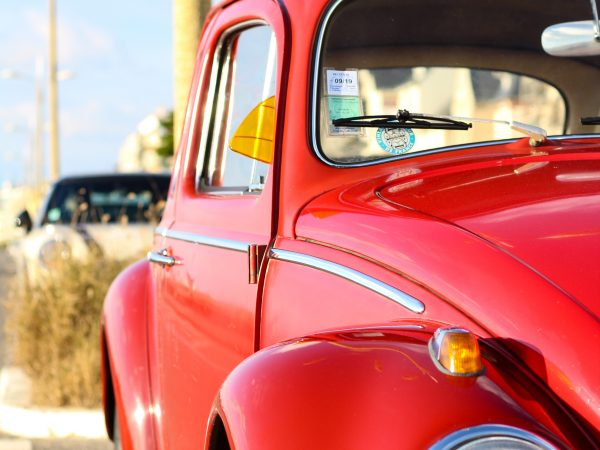 Photo of original VW Beetle in Breakfast Town's blog about past memories and nostalgia marketing