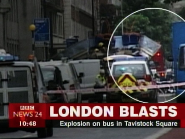 Photo of London bus blasts to show significant London event in Breakfast Town blog on change post Covid-19